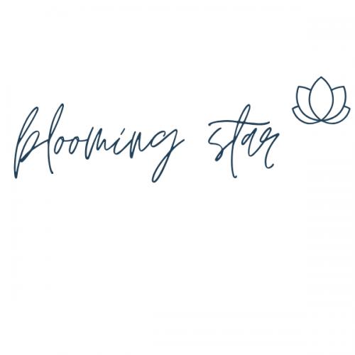 Blooming star - Logo groß